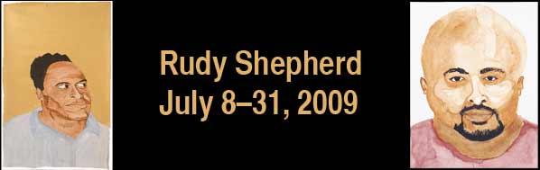 Rudy Shepherd: Portraits